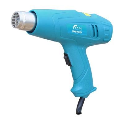 купить Фен строительный SPEC SHG1650 (1600 Вт, 2 скорости, 300-500 °С, набор насадок в комплекте)