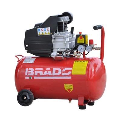 купить Воздушный компрессор Brado IBL50B (до 260 л/мин, 8 атм, 50 л, 220 В, 1,8 кВт)