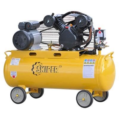 купить Воздушный компрессор SKIPER IBL2070А (до 300 л/мин, 8 атм, 70 л, 220 В, 2.2 кВт)