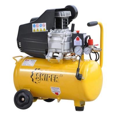 купить Воздушный компрессор SKIPER IBL25А (до 220 л/мин, 8 атм, 25 л, 220 В, 1.5 кВт)