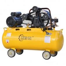 Воздушный компрессор SKIPER IBL3100В (до 600 л/мин, 8 атм, 100 л, 380 В, 3.0 кВт)