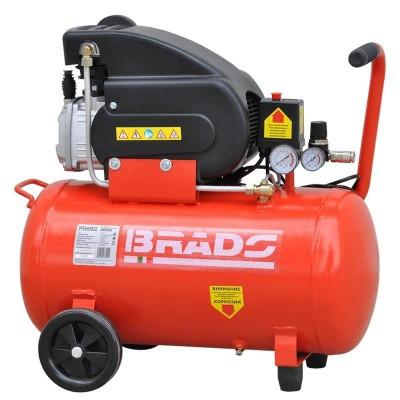 купить Воздушный компрессор BRADO AR50B (до 260 л/мин, 8 атм, 50 л, 220 В, 1.80 кВт)