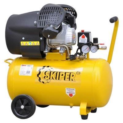 купить Воздушный компрессор SKIPER AR50V (до 400 л/мин, 8 атм, 50 л, 220 В, 2.2 кВт)