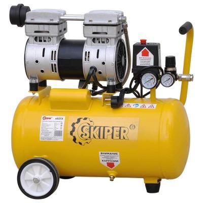 купить Компрессор безмасляный SKIPER AR25X (до 135 л/мин, 8 атм, поршневой, 25 л, 220 В, 750 Вт)
