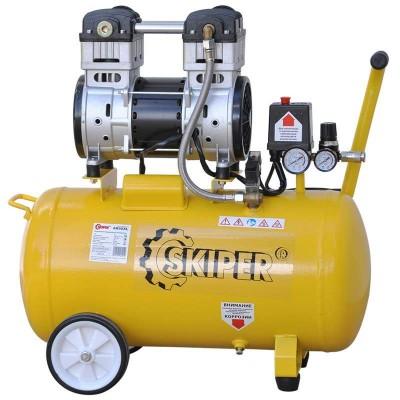 купить Компрессор безмасляный SKIPER AR50XL (до 220 л/мин, 8 атм, поршневой, 50 л, 220 В, 1.1 кВт)