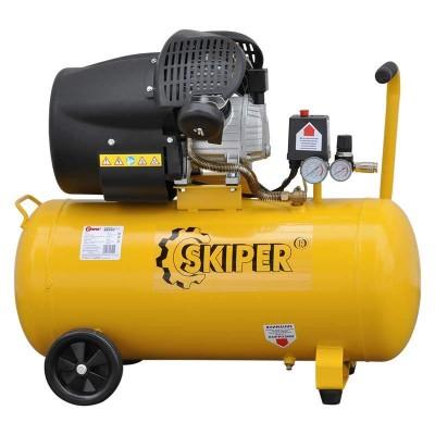 купить Воздушный компрессор SKIPER AR70V (до 400 л/мин, 8 атм, 70 л, 220 В, 2.2 кВт)
