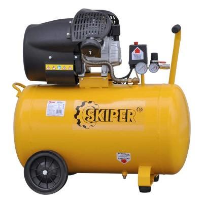 купить Воздушный компрессор SKIPER AR100V (до 400 л/мин, 8 атм, 100 л, 220 В, 2.2 кВт)