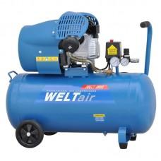 Воздушный компрессор WELT AR70VT (до 400 л/мин, 8 атм, 70 л, 220 В, 2.2 кВт)