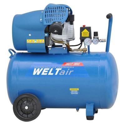 купить Воздушный компрессор WELT AR100VT (до 400 л/мин, 8 атм, 100 л, 220 В, 2.2 кВт)