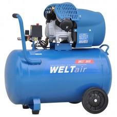 Воздушный компрессор WELT AR100VT (до 400 л/мин, 8 атм, 100 л, 220 В, 2.2 кВт)