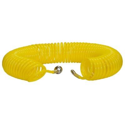 купить Шланг полиурет. cпиральный 15 м, ф 6/8 мм c быстросъемн. соед. SKIPER PUH-60815