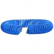 Шланг полиуретановый cпиральный 20 м, ф 8/12 мм c быстросъемн. соед. SKIPER PUH-81220