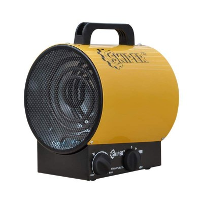 купить Нагреватель воздуха электр. SKIPER EHT-2 (пушка, 2 кВт, 220 В, термостат)