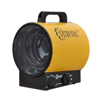 купить Нагреватель воздуха электр. SKIPER EHT-3 (пушка, 3 кВт, 220 В, термостат)