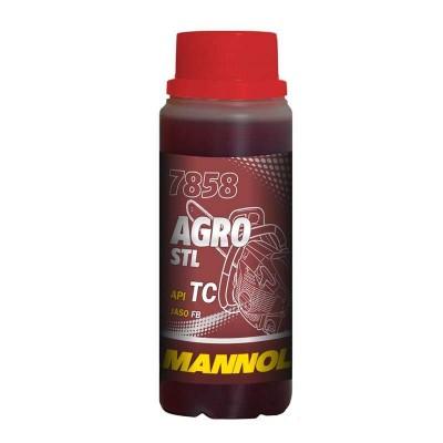 купить Mannol 7858 Agro Formula S API TC / Масло моторное двухтактное синтетическое 100 мл