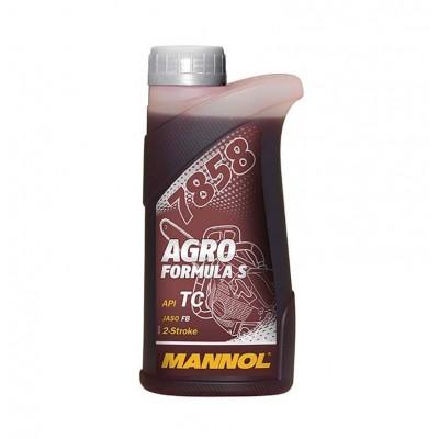 купить Mannol 7858 Agro Formula S API TC / Масло моторное двухтактное синтетическое 500 мл