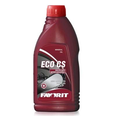 купить Масло минеральное для цепей бензопил/ FAVORIT Eco CS Bio, 1л
