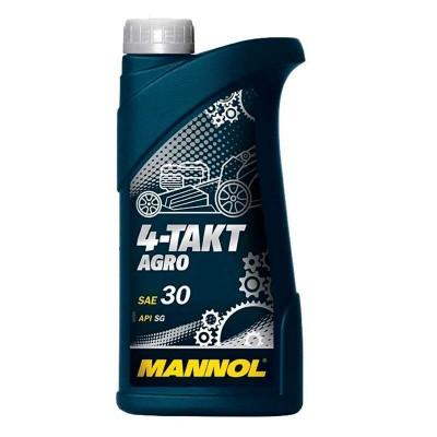 купить MANNOL 4-Takt Agro SAE 30 / Масло моторное минеральное 1л
