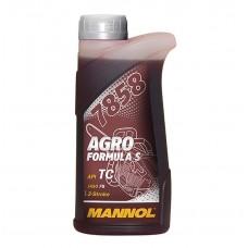 Масло моторное двухтактное синтетическое MANNOL 7858 Agro Formula S API TC 1л