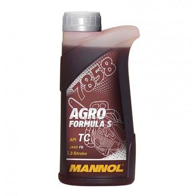 купить Mannol 7858 Agro Formula S API TC / Масло моторное двухтактное синтетическое 1л
