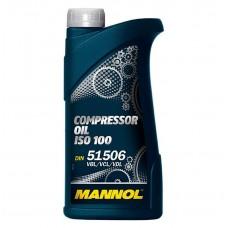 Масло компрессорное минеральное MANNOL Compressor Oil ISO 100  1л