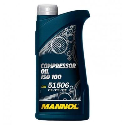 купить MANNOL Compressor Oil ISO 100 / Масло компрессорное минеральное 1 л