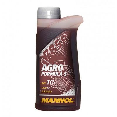 купить MANNOL 7858 Agro Formule S API NC / Масло моторное двухтактное синтетическое 1л