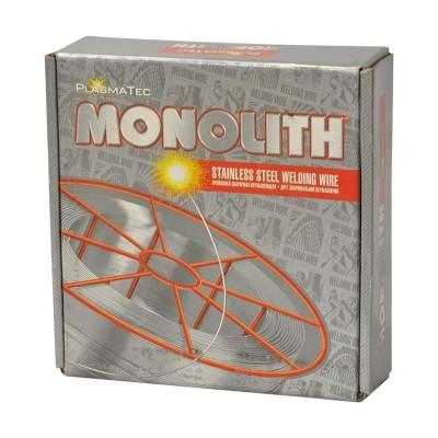 купить Проволока сварочная нержавеющая ER308LSI ТМ Monolithд 0,8 мм: уп 1 кг