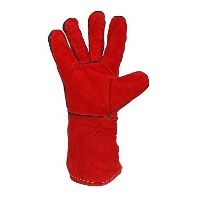 купить Краги сварщика спилковые на подкладке,частичная защита швов, класс В/С, Арт. S11