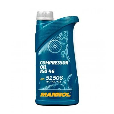 купить MANNOL Compressor Oil ISO 46 / Масло компрессорное минеральное 1 л