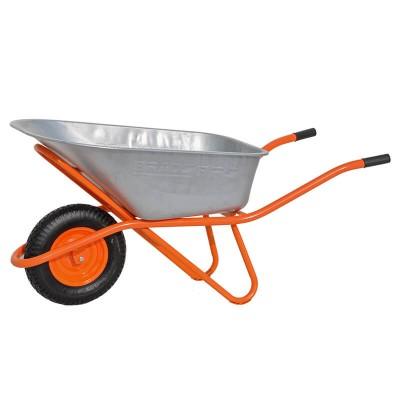 купить Тачка строительная BRADO 130 expert PRO (до 130 л, до 300 кг, 1x4.00-8, пневмо)