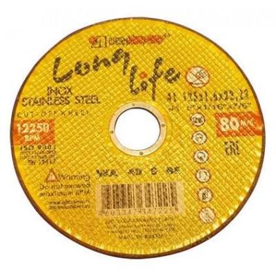купить Круг отрезной 230х1.6x22.2 мм для нерж. стали (LL) LUGAABRASIV (упаковка 25 шт)