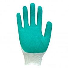 Перчатки хлопчатобумажные с латексным покрытием (одинарный облив)