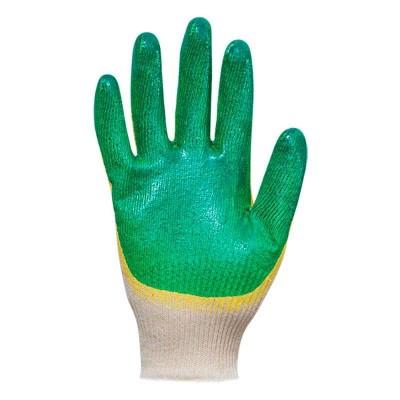 купить Перчатки хлопчатобумажные с латексным покрытием (двойной облив) 13 класс