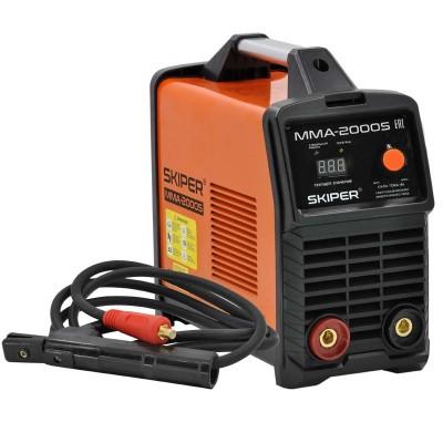 купить Инвертор сварочный SKIPER ММА-2000S (160-260 В, LED диспл., 120А, 1,6-2,5 мм, электрост. от 6,0 кВт)