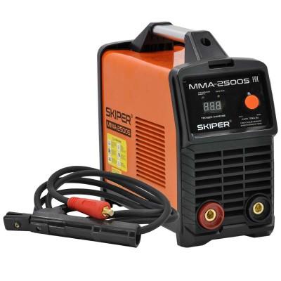 купить Инвертор сварочный SKIPER ММА-2500S (160-260 В, LED диспл., 140А, 1,6-3,2 мм, электрост. от 6,0 кВт)