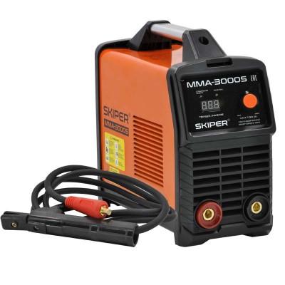 купить Инвертор сварочный SKIPER ММА-3000S (160-260 В, LED диспл., 160А, 1,6-4 мм, электрост. от 6,0 кВт)