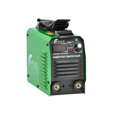 купить Инвертор сварочный SPEC ARC-200A (160-260 В, LED диспл., 200А, 1,6-3 мм, электрост. от 6,0 кВт)