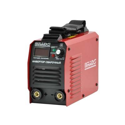 купить Инвертор сварочный BRADO ARC-200X-1 (160-260 В, LED диспл., 200А, 1,6-3 мм, электрост. от 6,0 кВт)