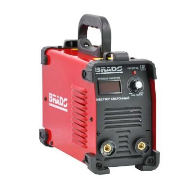 купить Инвертор сварочный BRADO ARC-210X-1 (160-260 В, LED диспл., 210А, 1,6-3,2 мм, электрост. от 6,0 кВт)