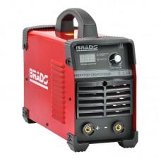 Инвертор сварочный BRADO ARC-230X-1 (160-260 В, LED диспл., 230А, 1,6-5 мм, электрост. от 6,0 кВт)