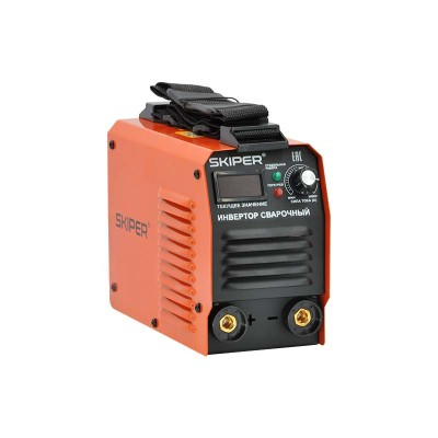 купить Инвертор сварочный SKIPER ММА-2500-1 (160-260 В, LED диспл., 200А, 1,6-3,2 мм, электрост. от 6,0 кВт)