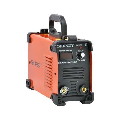 купить Инвертор сварочный SKIPER ММА-2600-1 (160-260 В, LED диспл., 210А, 1,6-3,2 мм, электрост. от 6,0 кВт)