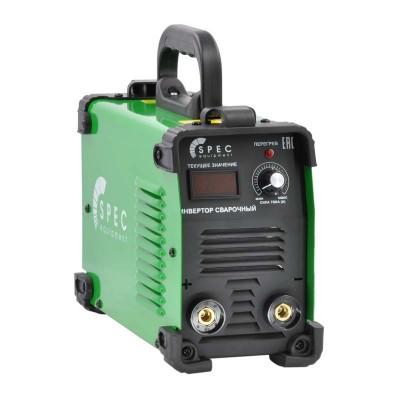 купить Инвертор сварочный SPEC ARC-210A-1 (160-260 В, LED диспл., 210А, 1,6-3,2 мм, электрост. от 6,0 кВт)