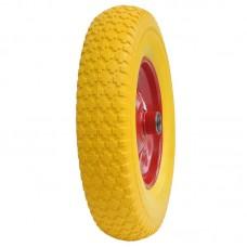 Колесо для тачки SKIPER 4.00-8 110/120 PU (посадочное отверстие 15 мм)