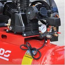 Воздушный компрессор BRADO IBL3100А (до 600 л/мин, 8 атм, 100 л, 220 В, 3.0 кВт)