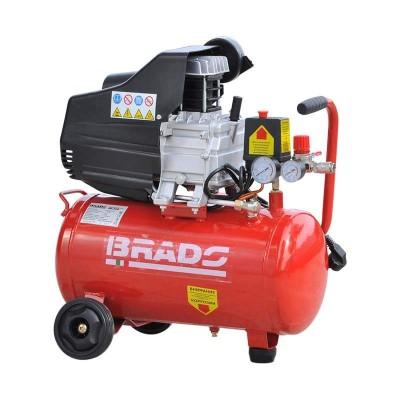 купить Воздушный компрессор Brado IBL25А (до 220 л/мин, 8 атм, 25 л, 220 В, 1,5 кВт)