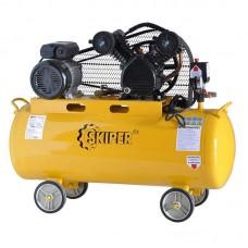 Воздушный компрессор SKIPER IBL3100V (до 300 л/мин, 8 атм, 100 л, 220 В, 2.2 кВт)