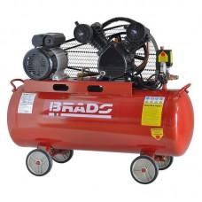 Воздушный компрессор BRADO IBL3100V (до 300 л/мин, 8 атм, 100 л, 220 В, 2.2 кВт)