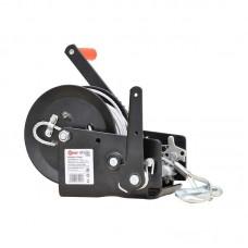 Лебедка ручная SKIPER ЛР 2500 ПРО 10м (усиленные шестерни, закалённая сталь)